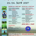 Flyer 3. Highlandgames 2007 in Oßweil